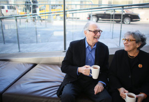 Arlene and Alan Alda