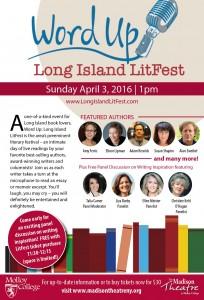 LI LitFest poster