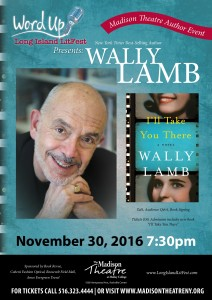 Author Poster Wally Lamb_12x17 small poster