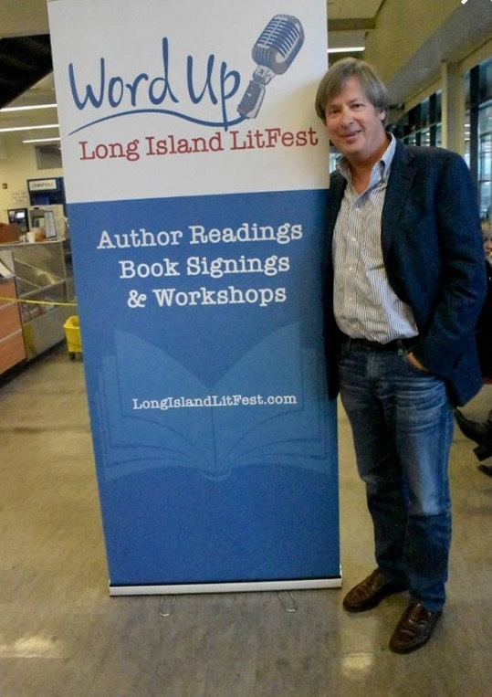 Dave Barry, Long Island LitFest 2017. Photo: Shinbone Photography