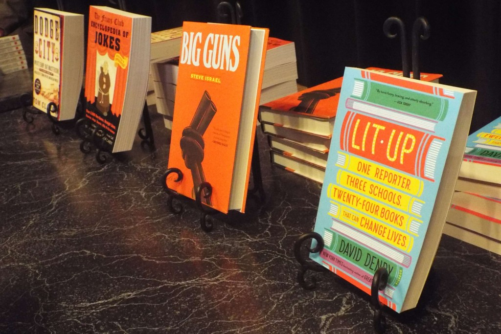 More in our pop-up bookstore.