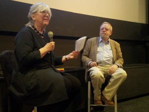 Authors and spouses Susan Rieger and David Denby in conversation.