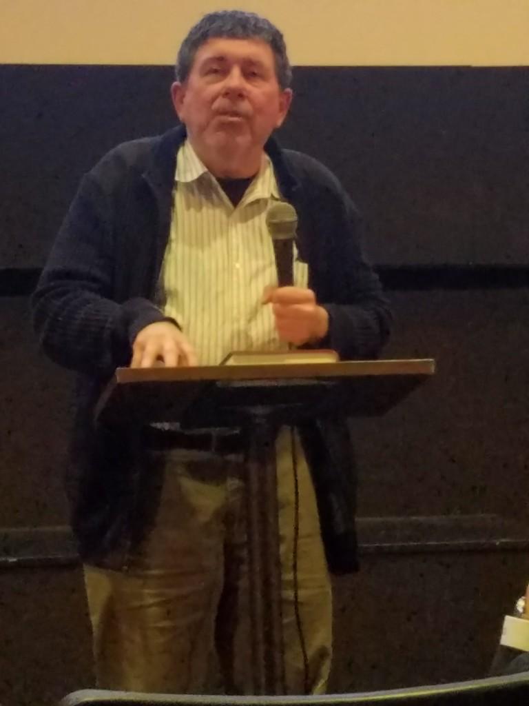 Local author Tom Clavin.